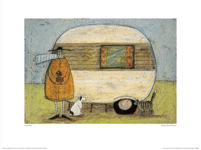Sam Toft Home From Home Print