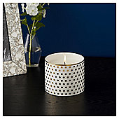 Fox & Ivy Polka Dot Luxury Scented Filled Candle