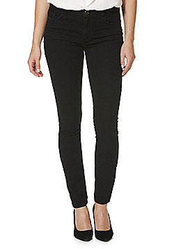 JDY Low Rise Skinny Jeans - Black wash