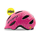 Giro Scamp MIPS Kids Helmet Pink Swirl