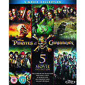 Pirates Of The Caribbean - Box set Blu-ray