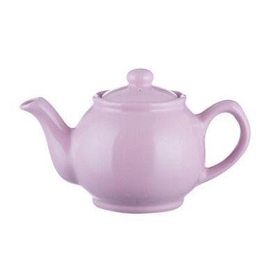 Pastel Pink Stoneware 2 Cup Teapot 450ml from Price & Kensington