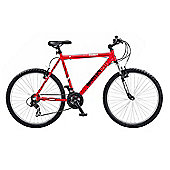 "Reflex Ghetto 26"" Wheel Front Suspension Alloy Mountain Bike Red"