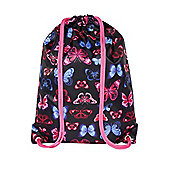 F&F Butterfly Drawstring Bag