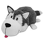 Vivid Flip a Zoo 2-In-1 Asher Husky to Poppi Polar Bear Soft Toy
