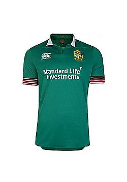 Canterbury British & Irish Lions Rugby Training S/S Jersey 16/17 - Bosphorus - Green
