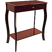 Kadoka - Wooden Console / Hallway Table With Storage Drawer - Cherry