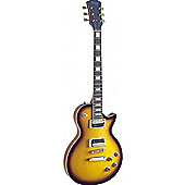 Rocket Standard L Zebra Electric Guitar - Sunburst