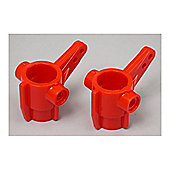 TAMIYA 50648 TA01 T.Car Front Upright (red) - RC Spare Parts