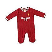 Liverpool Baby Core Kit Sleepsuit - 2017/18 Season - Red