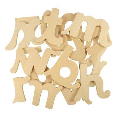 Bigjigs Toys BJ093 Cursive Letters Drawing Templates