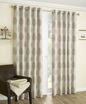 Enhanced Living Mulberry Copper Eyelet Curtains - 53x72 Inches (134x183cm)