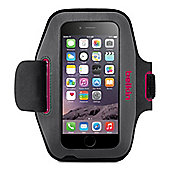 Belkin Sport-Fit Carrying Case (Armband) for iPhone - Blacktop, Fuschia