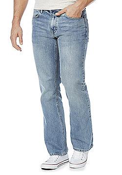 F&F Light Wash Bootcut Jeans - Light wash