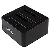 """StarTech USB 3.1 (10Gbps) Dual-Bay Dock for 2.5""""/3.5"""" SATA SSD/HDDs"""