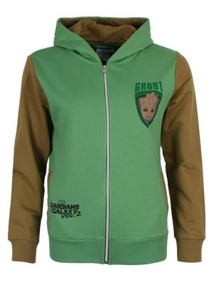 Guardians Of The Galaxy Groot Women's Hoodie, Green