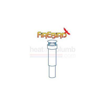 Firebird Enviromax 3m Vertical Flue Kit for 73kW Boilers