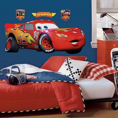 Disney Cars Lightning McQueen Giant Wall Stickers