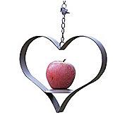 Heart Shaped Hanging Bird Feeder