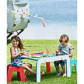 ELC Wooden Table and Stools