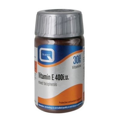 Quest Vitamin E 400 iu 60 60 Capsules