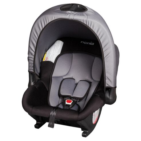 Baby Ride Car Seat, Group 0+, Black Nania