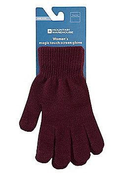 Mountain Warehouse MAGIC TOUCH SCREEN WOMENS GLOVE 2 PACK - Red