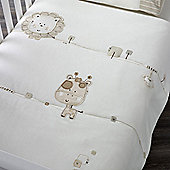 Natures Purest Sleepy Safari - Cot/Cot Bed Quilt