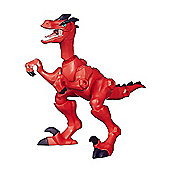 Jurassic World Hero Mashers Velociraptor (Red) Animal Action Figure