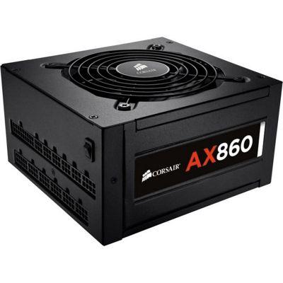 Corsair AX860 ATX12V & EPS12V Power Supply - 92% Efficiency - 860 W