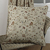 Hamilton Mcbride Mansfield Natural Piped Cushion Cover - 43x43cm
