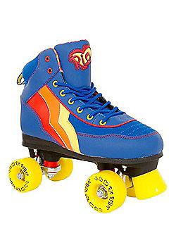 Rio Roller Classic II Blueberry Quad Roller Skates - Blue