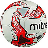 Mitre Impel D32P Football - White/Black/Red - White