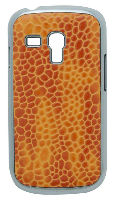 Tortoise™ Look Hard Case Samsung Galaxy SIII Mini Croc Orange