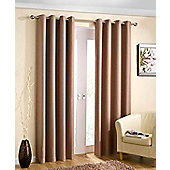 Enhanced Living Wetherby Natural Eyelet Curtains - 90x72 Inches (229x183cm)