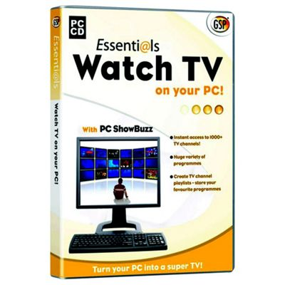 Watch TV on your PC
