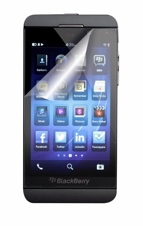 Tortoise™ Blackberry Z10 Screen Protector Twin Pack