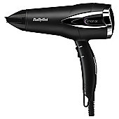 BaByliss 5361U Futura 2200W Ionic Hair Dryer - Black / Silver