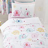 Elephants on Parade Single Bedding