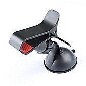 time2 Black Mobile Phone In Car 360 Rotation Windscreen Suction Holder