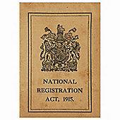 WW1 Replica Great War ID Card - Teaching Aid or Prop