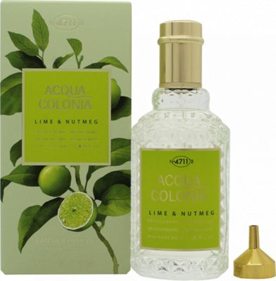Mäurer & Wirtz 4711 Acqua Colonia Lime & Nutmeg Eau de Cologne 50ml Spray