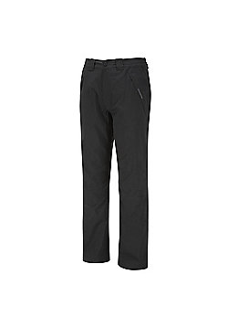 Craghoppers Mens Steall Stretch Waterproof Walking Trousers - Black