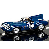 SCALEXTRIC Slot Car C3730 Jaguar D-Type - Nurburgring 1000km 1957