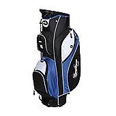 Confidence Pro V2 14 Way Divider Golf Cart / Trolley Bag Blue