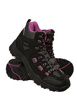 Mountain Warehouse Adventurer Womens Waterproof Boots - Black
