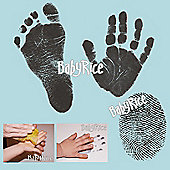BabyRice - Inkless Wipe Hand and Foot Print Kit with Blue Cards