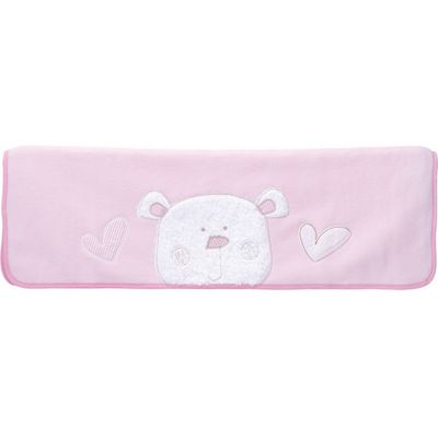 Obaby B is for Bear Fleece Blanket in Pink