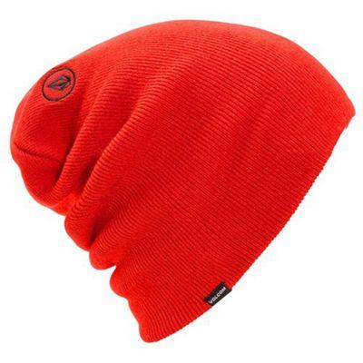 Volcom Modern Tallboy Beanie - Fire Red