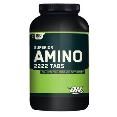 Optimum Nutrition Superior Amino 2222 Tabs 160 capsules